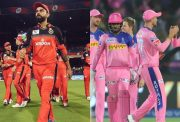 RCB and Rajasthan Royals