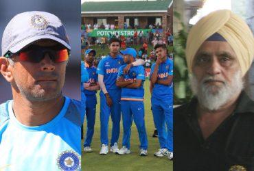 Rahul Dravid and Bishan Singh Bedi
