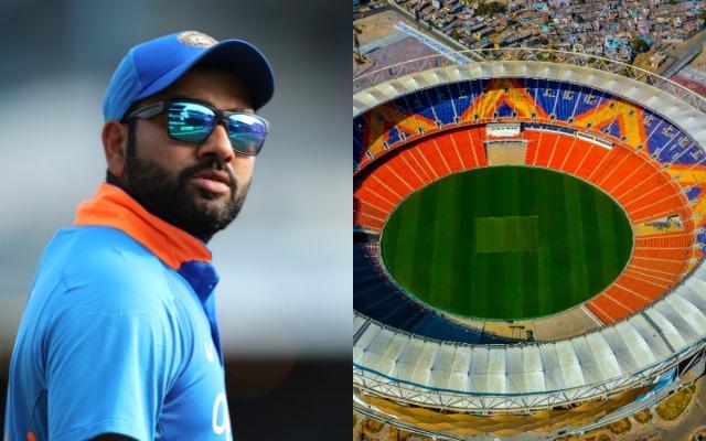 Rohit Sharma and Motera Stadium