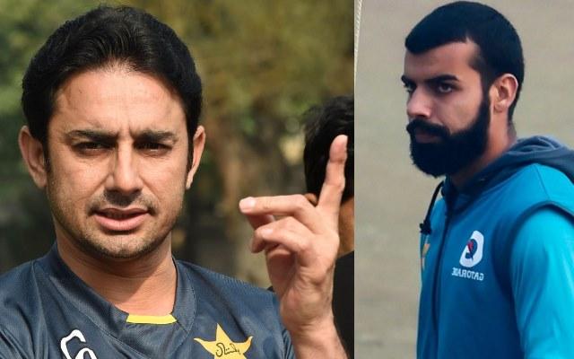 Saeed Ajmal and Shadab Khan