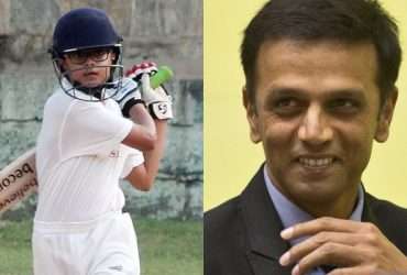 Samit Dravid and Rahul Dravid