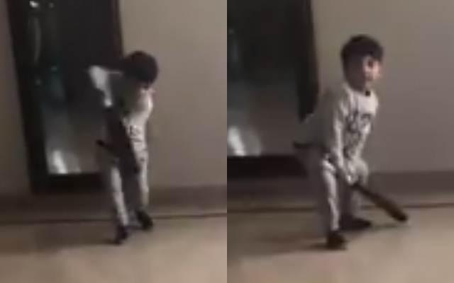 Sarfaraz Ahmed's son