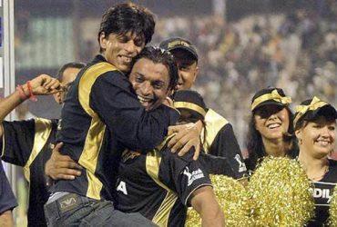 Shahrukh Khan and Shoaib Akhtar
