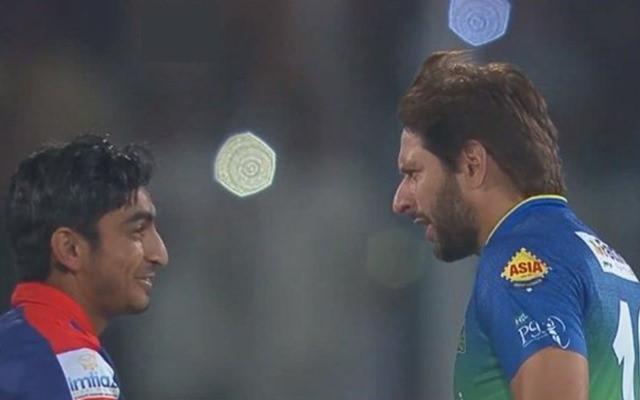 Umer Khan and Shahid Afridi