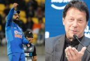 Virat Kohli and Imran Khan