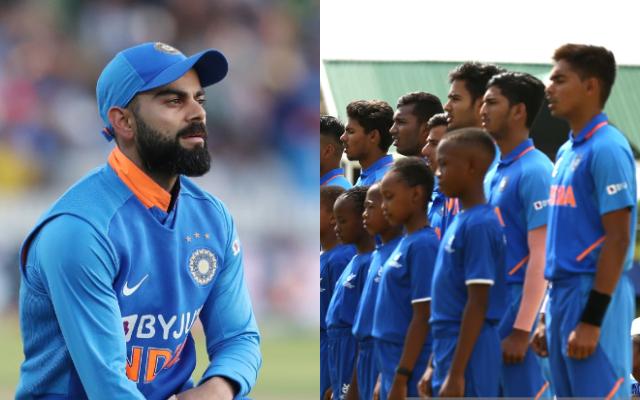 Virat Kohli and India U19