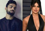 Virat Kohli and Priyanka Chopra