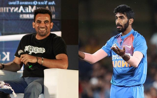 Zaheer Khan and Jasprit Bumrah