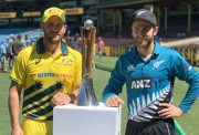 Aaron Finch and Kane Williamson