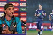 Azhar Mahmood and Naseem Shah