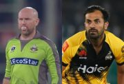 Ben Dunk and Wahab Riaz