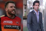 David Warner and Siddharth Mallya