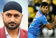 Harbhajan Singh and Washington Sundar