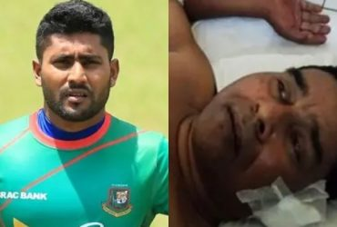 Imrul Kayes and his father