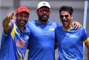 Irfan Pathan, Yuvraj Singh and Mohammad Kaif