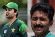 Javed Miandad and Ahmed Shehzad