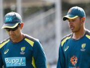 Justin Langer and Usman Khawaja