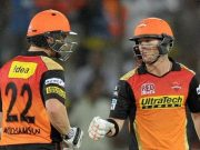 Kane Williamson and David Warner