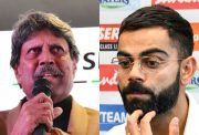 Kapil Dev and Virat Kohli