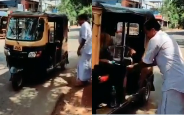 Kerala auto-rickshaw driver