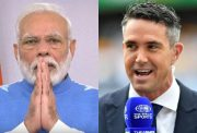 Narendra Modi and Kevin Pietersen