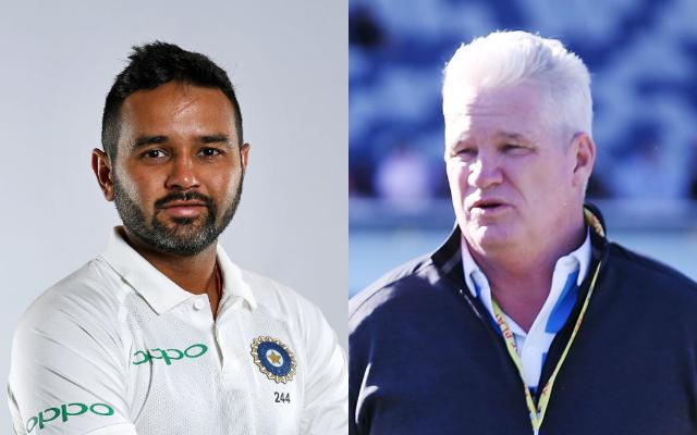 Parthiv Patel and Dean Jones