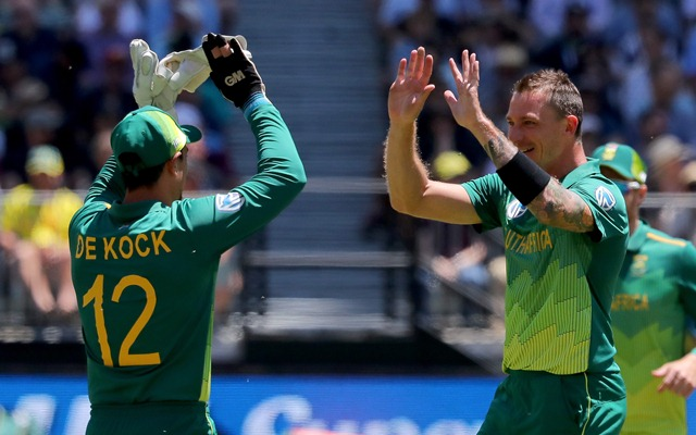 Quinton de Kock and Dale Steyn