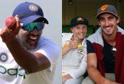 Ravichandran Ashwin, Alyssa Healy and Mitchell Starc