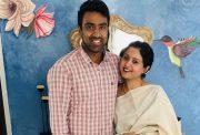 Ravichandran Ashwin and Prithi Ashwin
