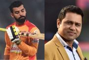 Shadab Khan and Aakash Chopra