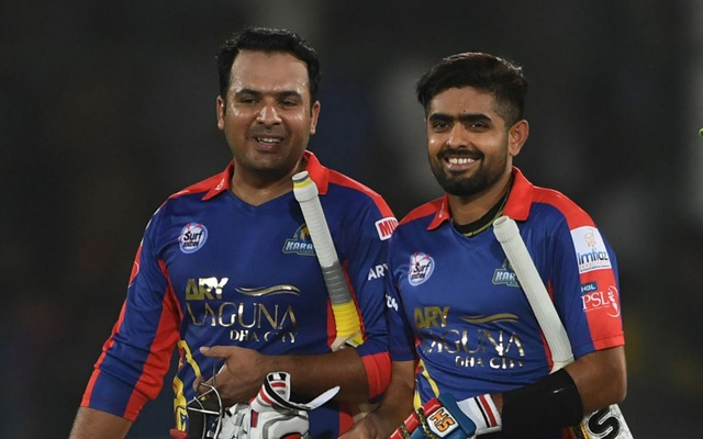 Sharjeel Khan and Babar Azam