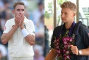 Stuart Broad and Joe Root