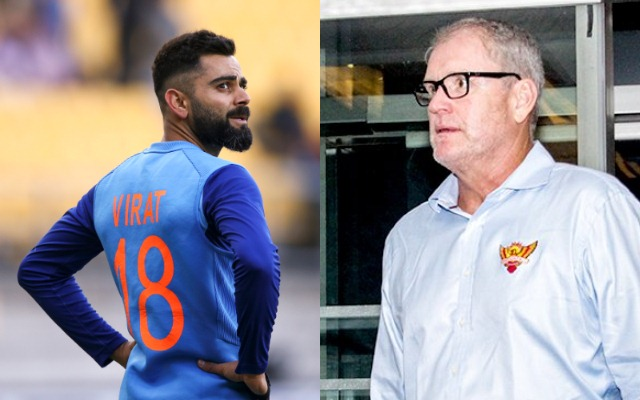 Virat Kohli and Tom Moody