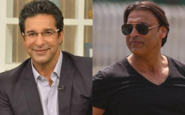 Wasim Akram and Shoaib Akhtar