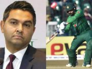 Wasim Khan and Mohammad Hafeez
