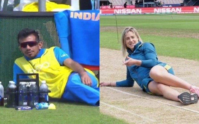 Yuzvendra Chahal and Ellyse Perry