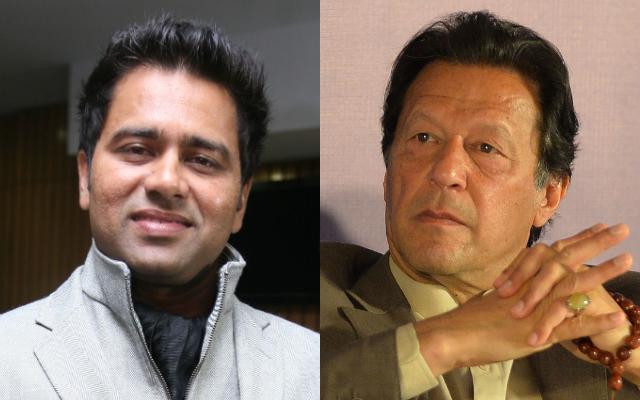 Aakash Chopra and Imran Khan