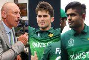 Danny Morrison, Shaheen Afridi and Babar Azam