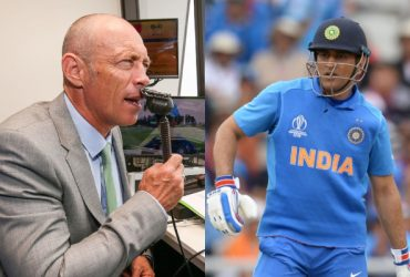 Danny Morrison and MS Dhoni