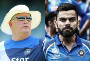 Duncan Fletcher and Virat Kohli
