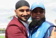 Harbhajan Singh and Saqlain Mushtaq