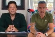 Imran Khan and Kevin Pietersen