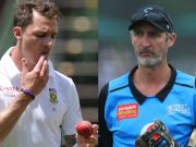 Jason Gillespie and Dale Steyn