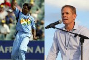 Javagal Srinath and Shaun Pollock