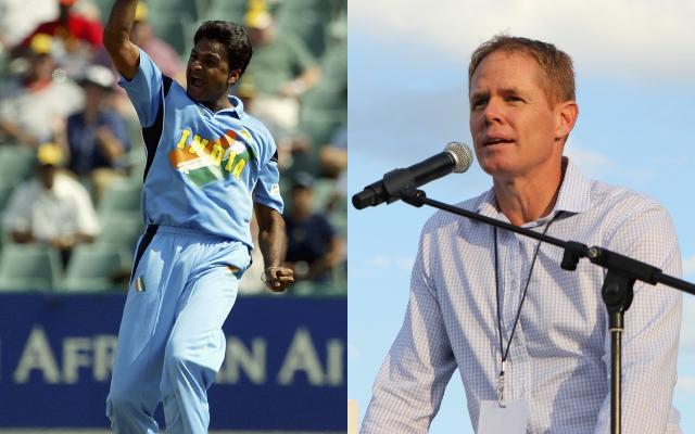 Javagal Srinath and Shaun Pollock