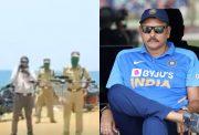 Kerala Police and Ravi Shastri