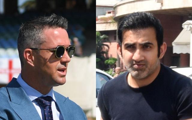 Kevin Pietersen and Gautam Gambhir