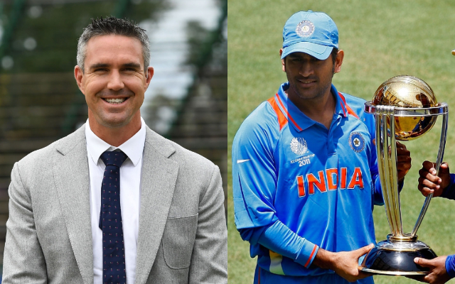 Kevin Pietersen and MS Dhoni
