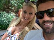 Liam Plunkett and his wife