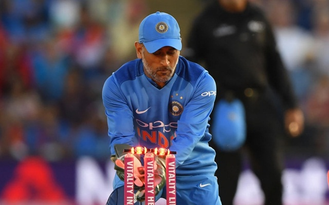 MS Dhoni. (Photo by Scott Barbour/Getty Images)